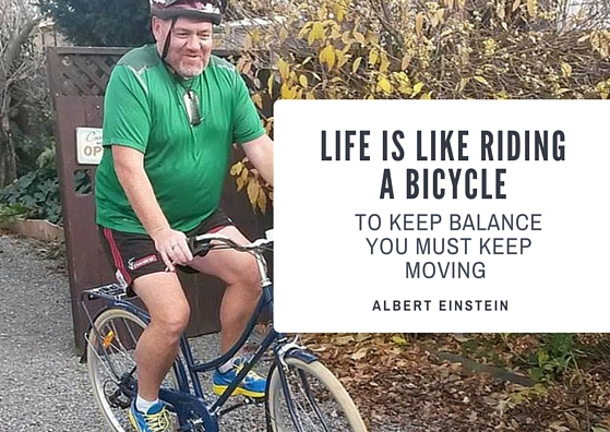 life is like riding a bicycle Life is like riding a bicycle, to stay balanced just keep moving – einstein gifted and caring psychic readers are available to answer all of your important question.